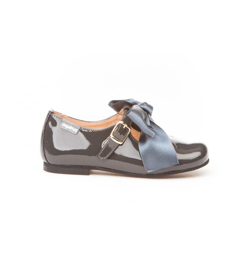 Comprar Angelitos Zapatos de piel 516 gris