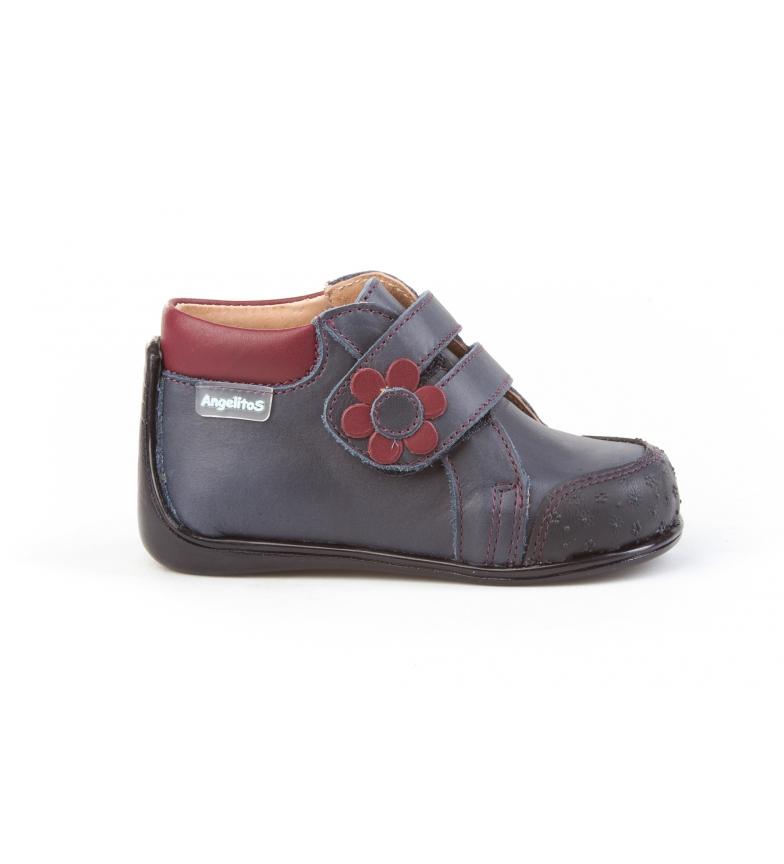 Comprar Angelitos Leather boots Flor Neo Marine Crawler