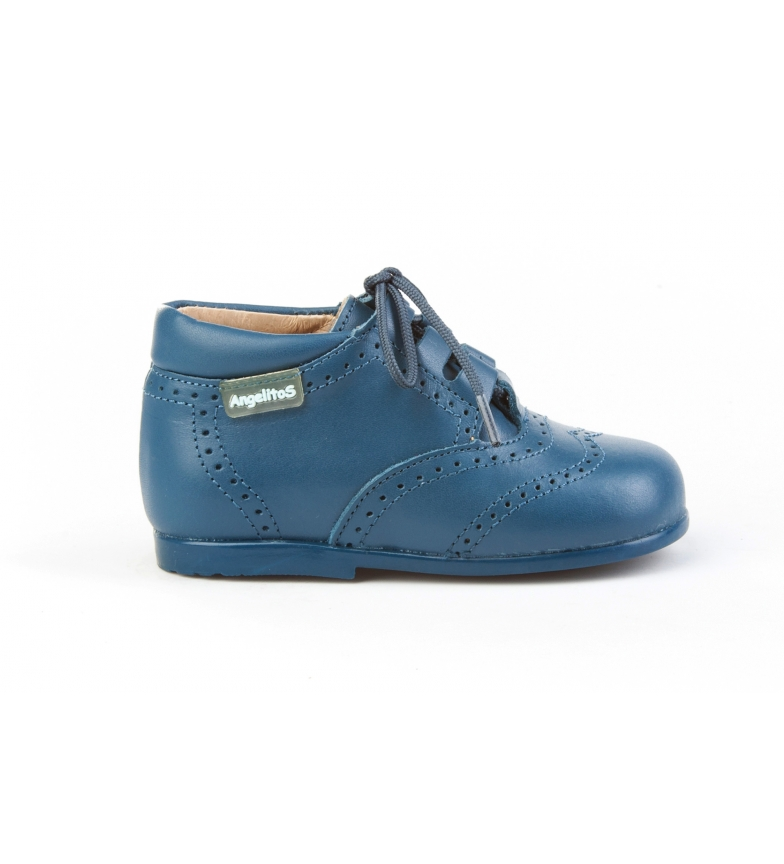 Comprar Angelitos Blue English leather boots
