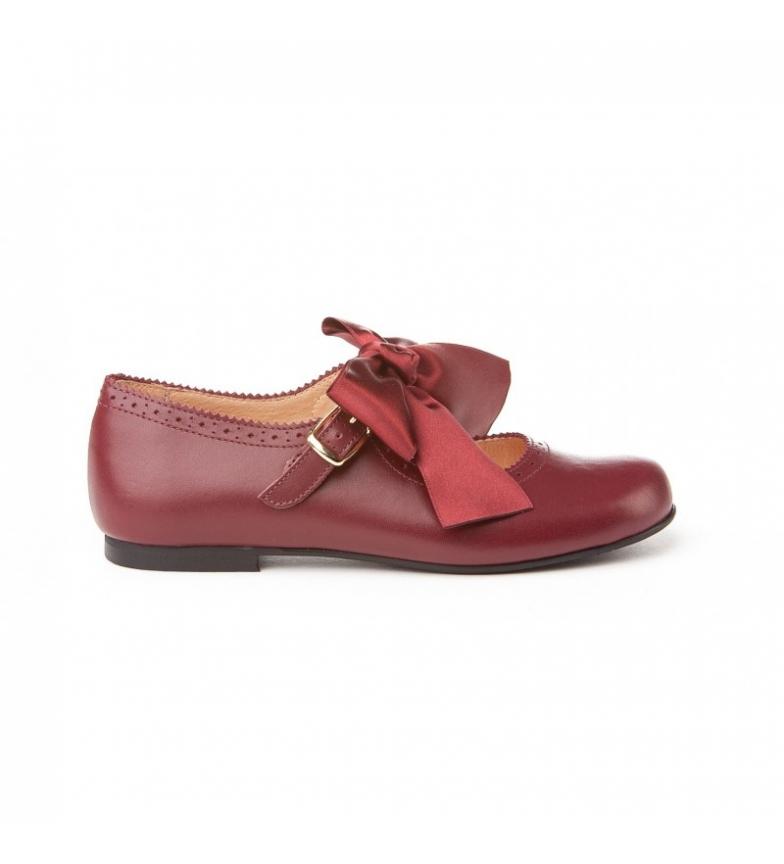 Comprar Angelitos Mercedita leather Picados burgundy