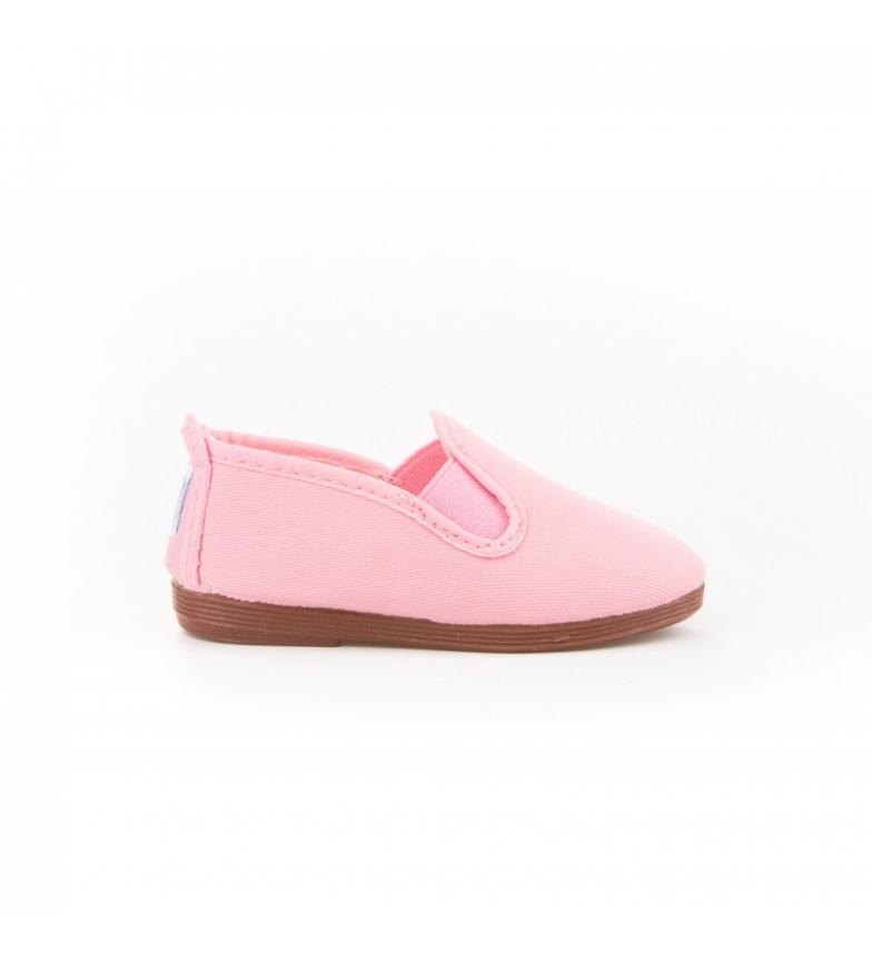 Comprar Angelitos Pink canvas Kun Fu shoes