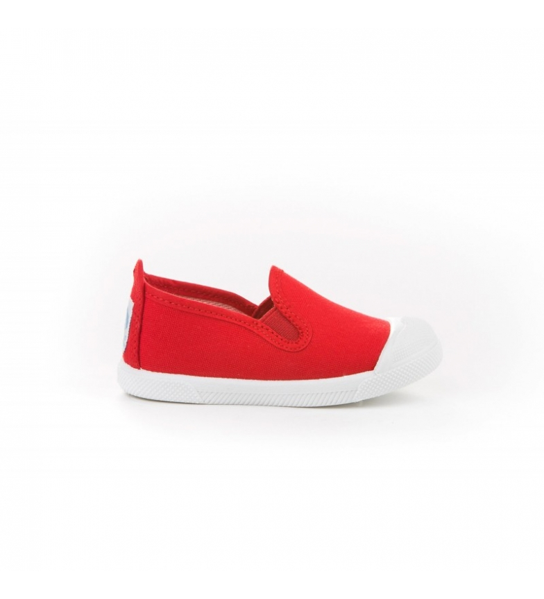 Comprar Angelitos Red canvas Kun Fu shoes