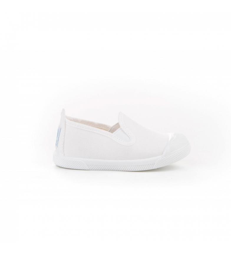Comprar Angelitos Kun Fu shoes canvas toe white