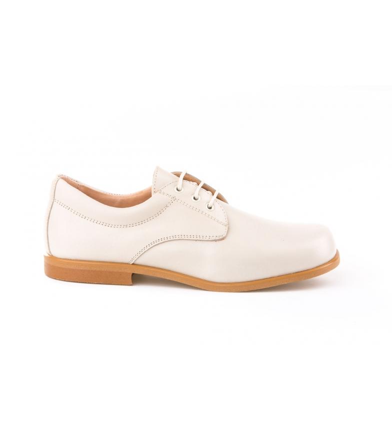 Comprar Angelitos Chaussures en cuir Blucher beige