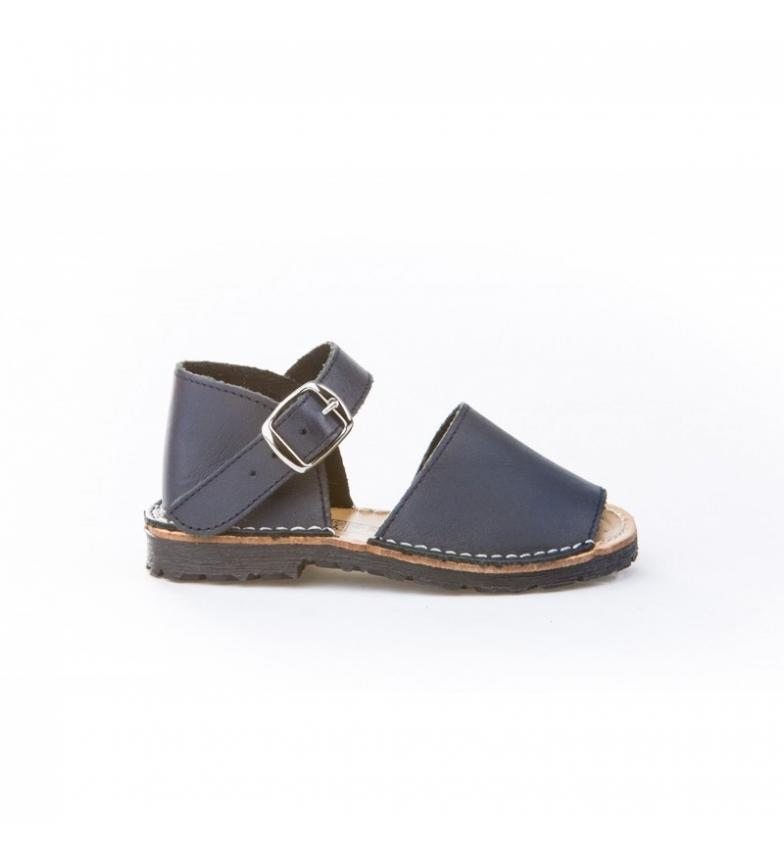 Comprar Angelitos Avarca sea buckle leather