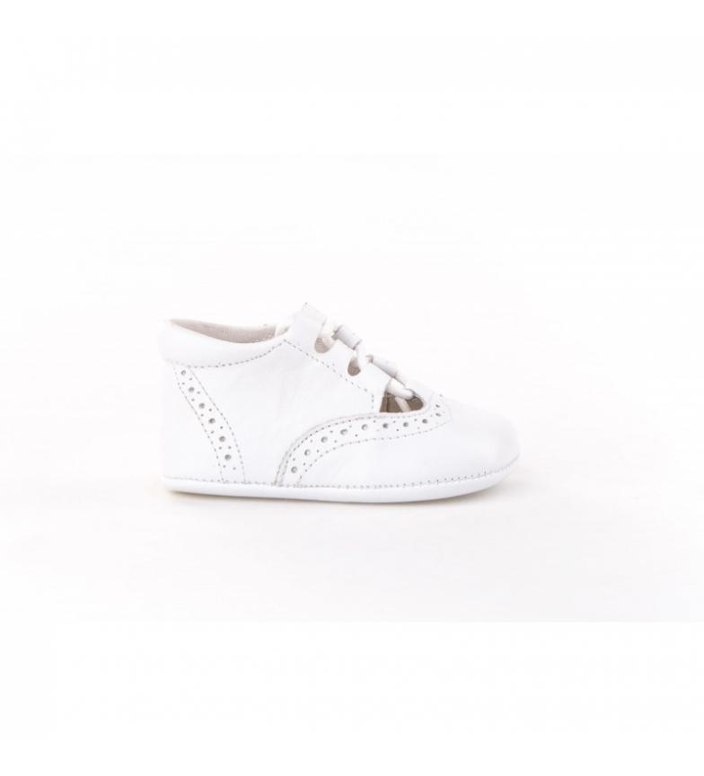 Comprar Angelitos Scarpe inglesi in pelle bianca