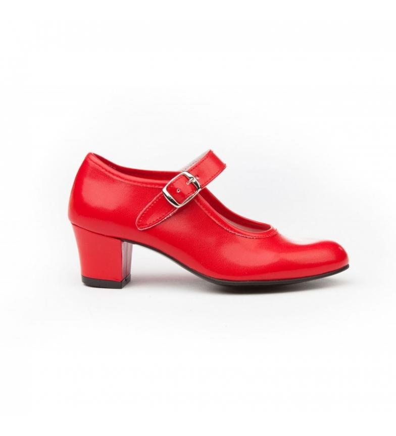 Comprar Angelitos Sapatos Flamenco Vermelhos