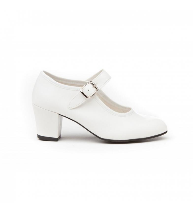 Comprar Angelitos Sapatos Flamenco branco