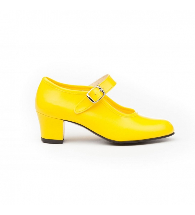 Comprar Angelitos Yellow Flamenco Shoes