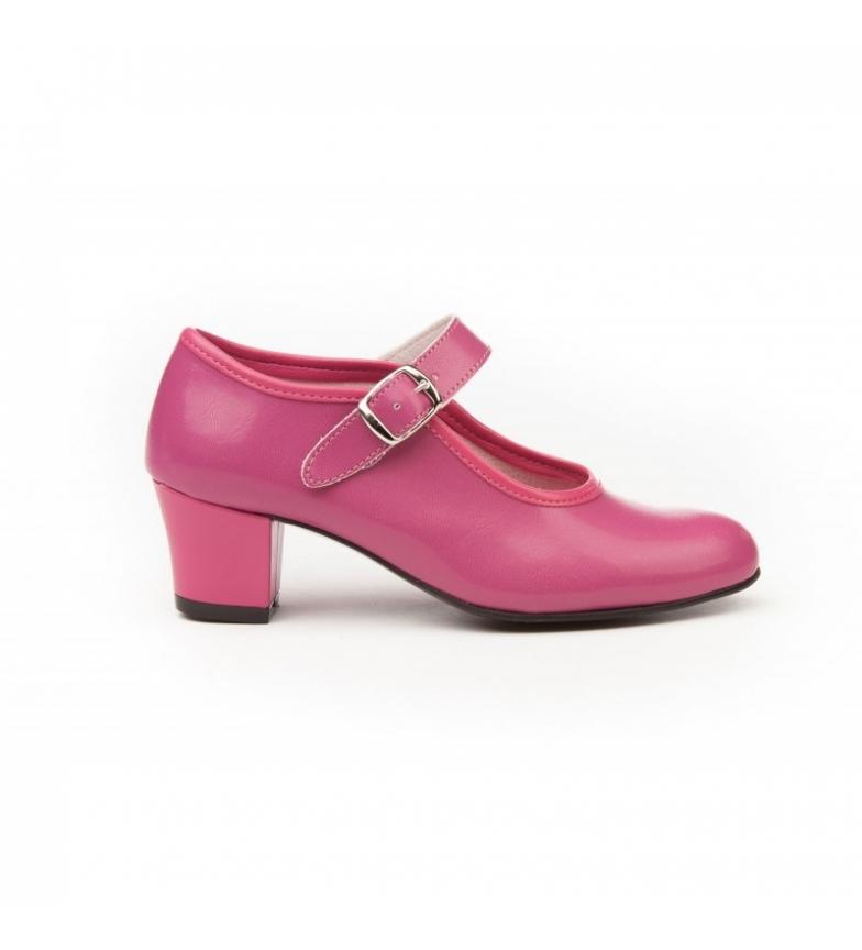 Comprar Angelitos Chaussures de flamenco Fuxia