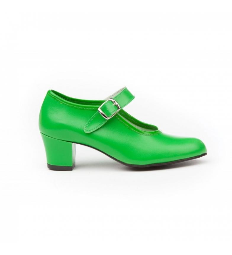 Comprar Angelitos Green Flamenco Shoes