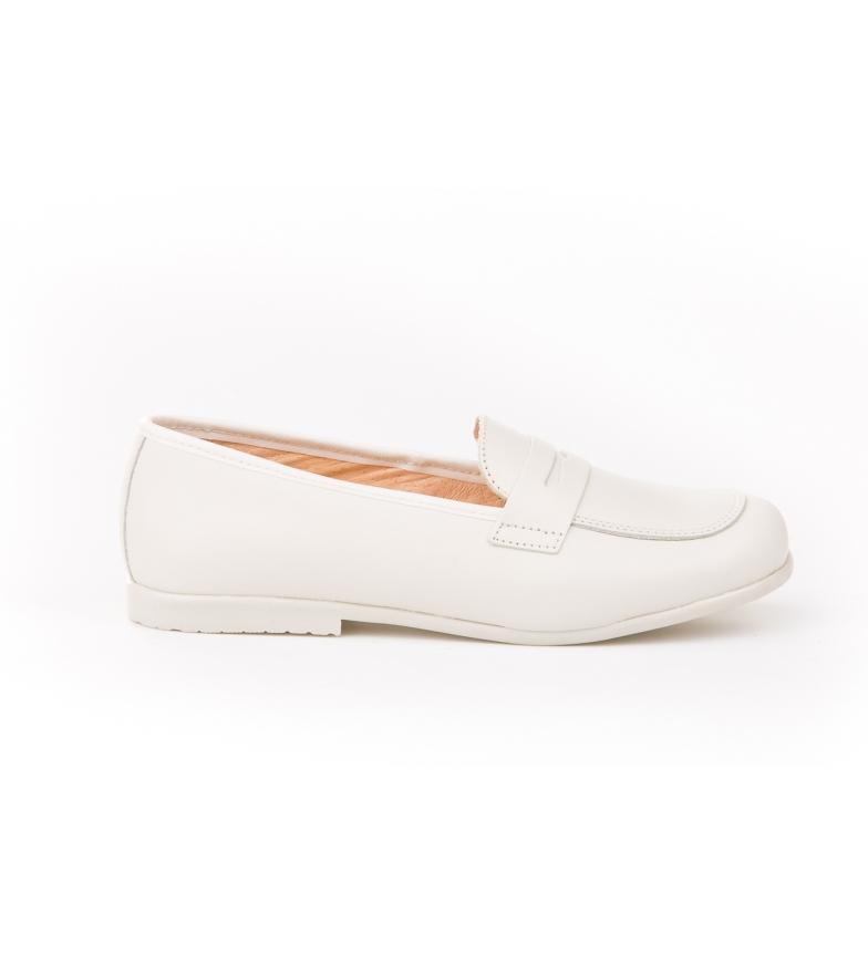 Comprar Angelitos Scarpe / mocassino in pelle bianca
