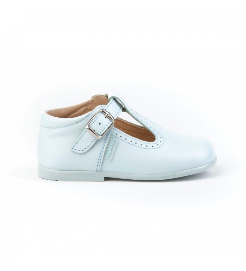 Comprar Angelitos Sapatos de couro Pepito fivela do céu