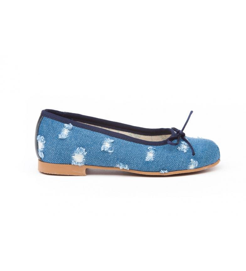 Angelitos Manoletina/Ballerina Cowgirl blue
