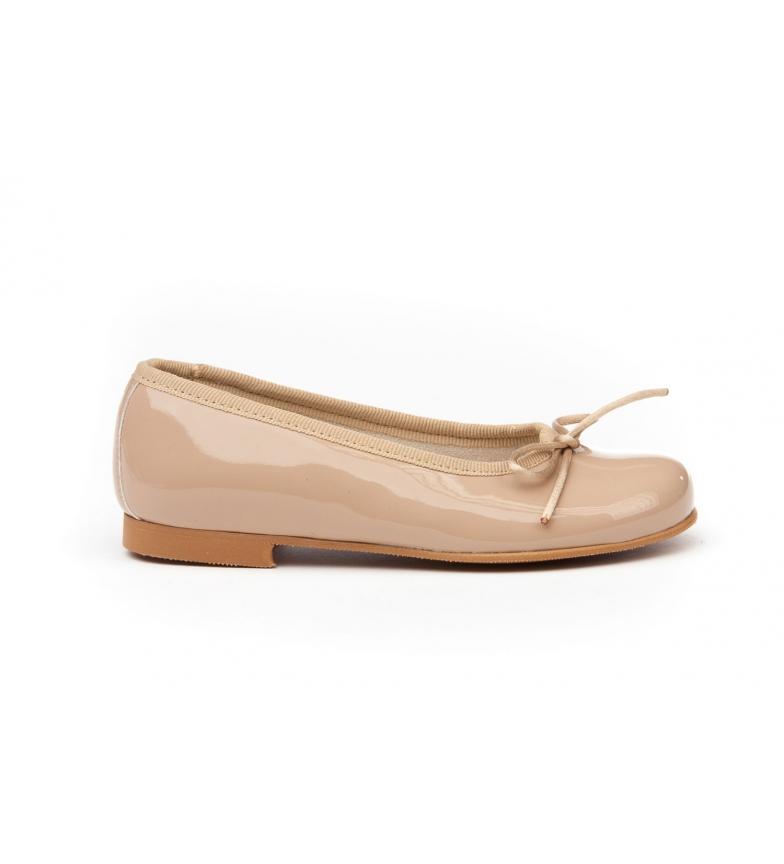 Comprar Angelitos Manoletinas/Ballerinas cuir verni camel