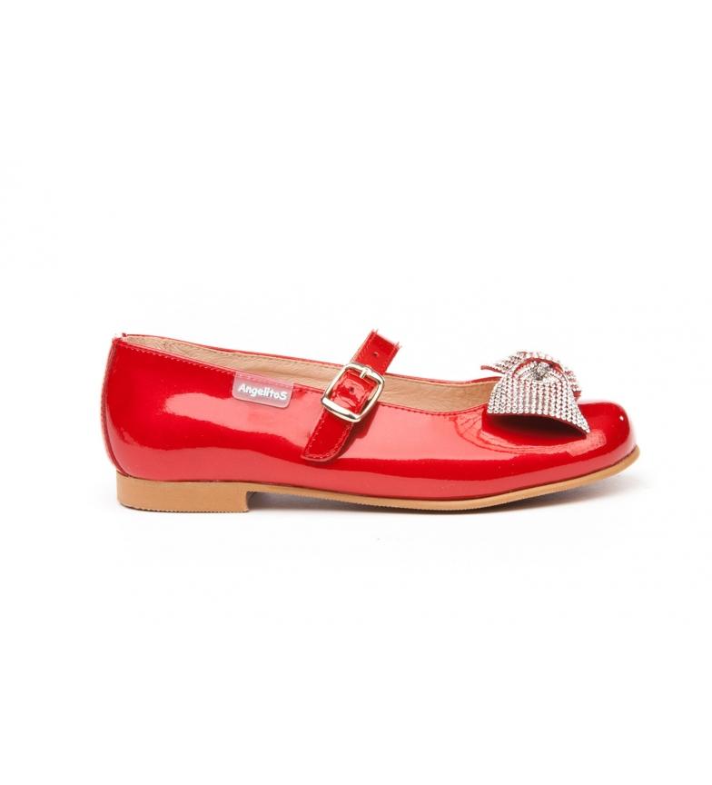 Comprar Angelitos Chaussure en cuir verni rouge