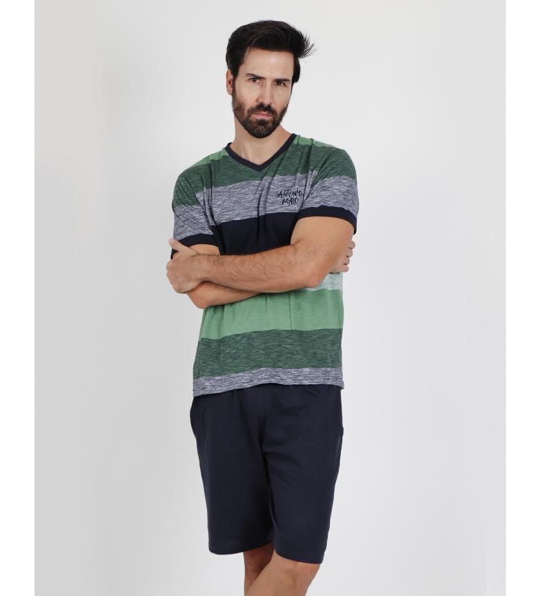 Comprar Antonio Miro Pigiama antigraffio grigio, verde