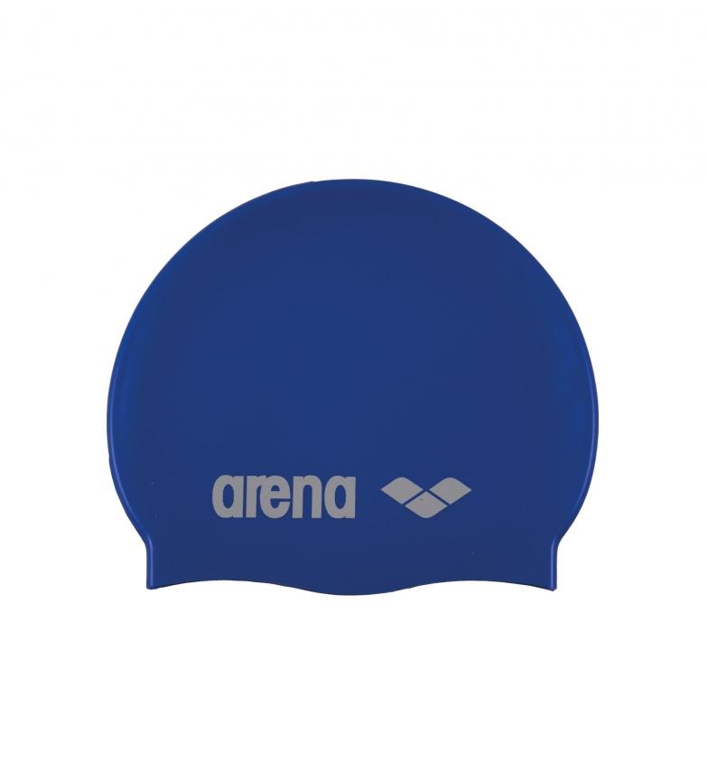 Comprar Arena Classic Silicone swimming cap blue, white