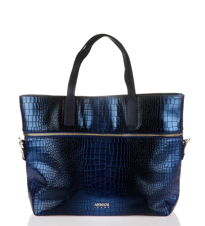 Comprar Armani Jeans Borsone 922290 7A806 blu -38 × 34 × 11cm-