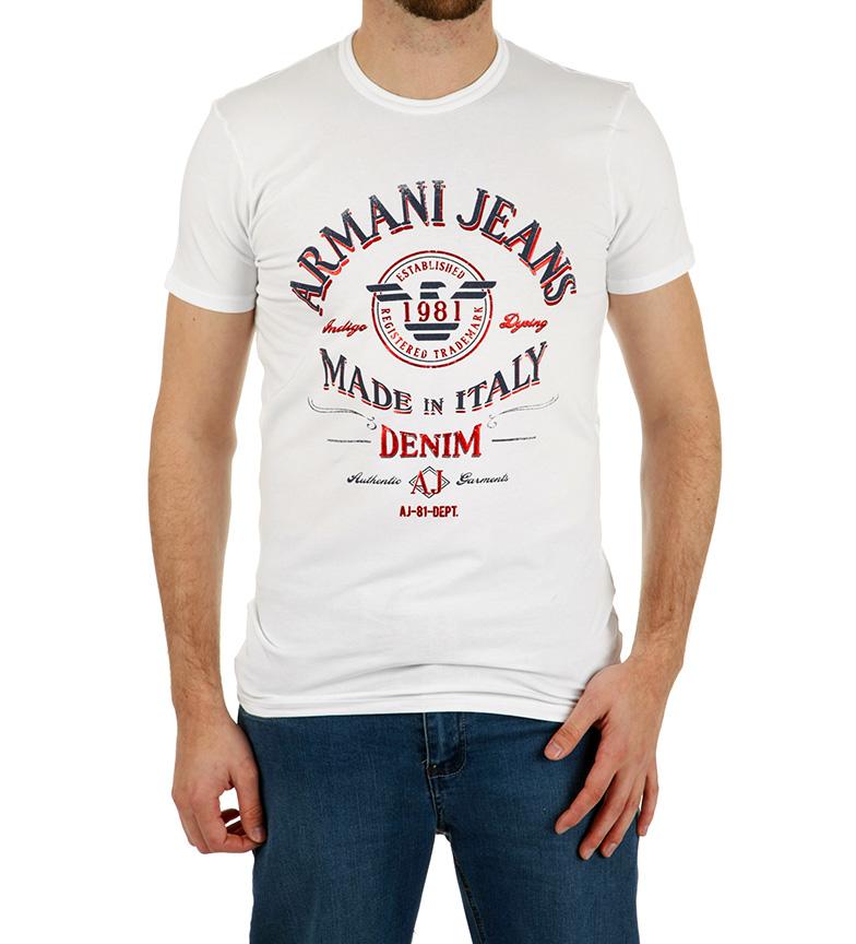 Comprar Armani Jeans 1981 T-shirt branco