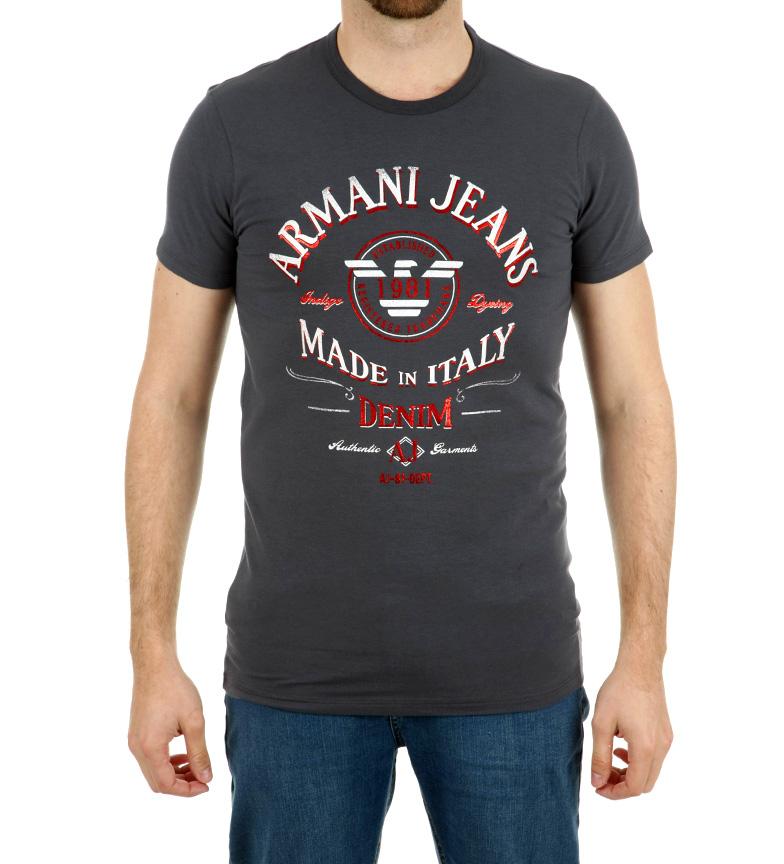 anbefale for salg Armani Jeans Svart Skjorte 1981 rabatt i Kina fFvLVvOBrw