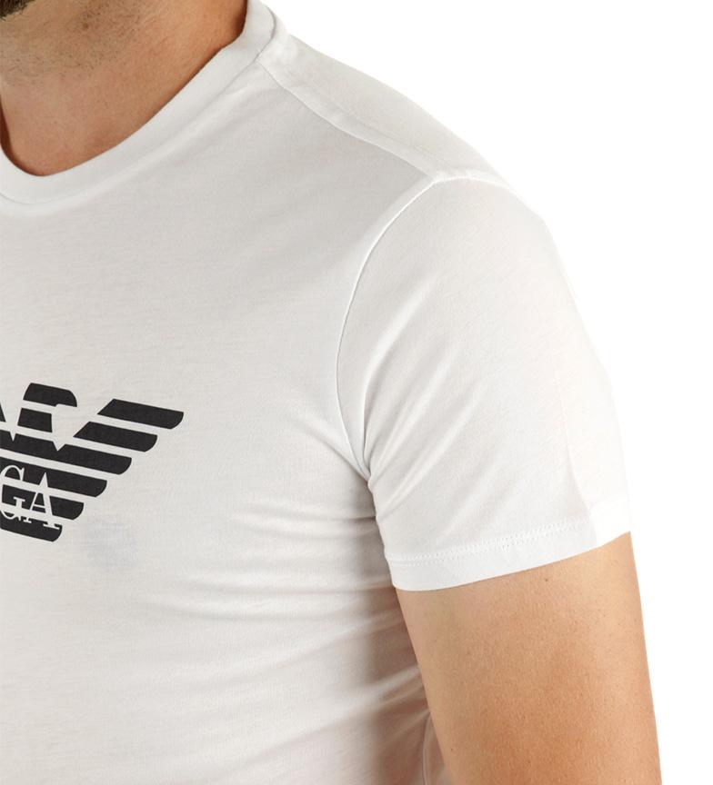 Armani Jeans Camiseta Basic Trend blanco