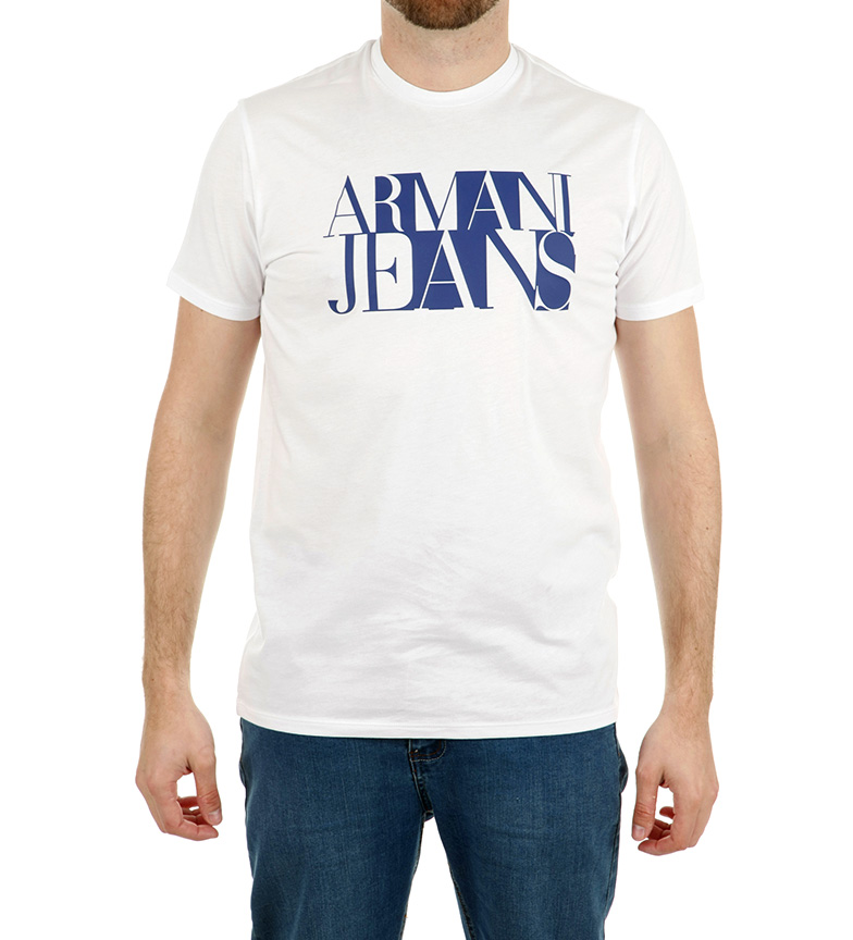 Armani Jeans Camiseta Daki negro