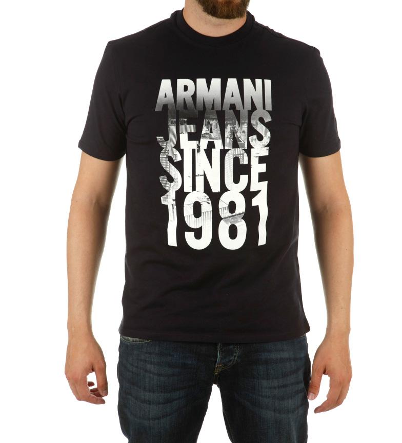 Comprar Armani Jeans Alguns camisa preta