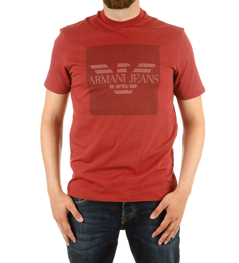 Comprar Armani Jeans T-Shirt Teletypic marrone