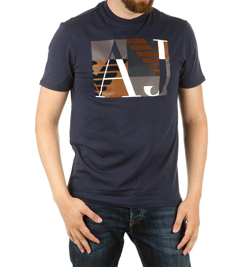 Comprar Armani Jeans Camiseta Umbral marino