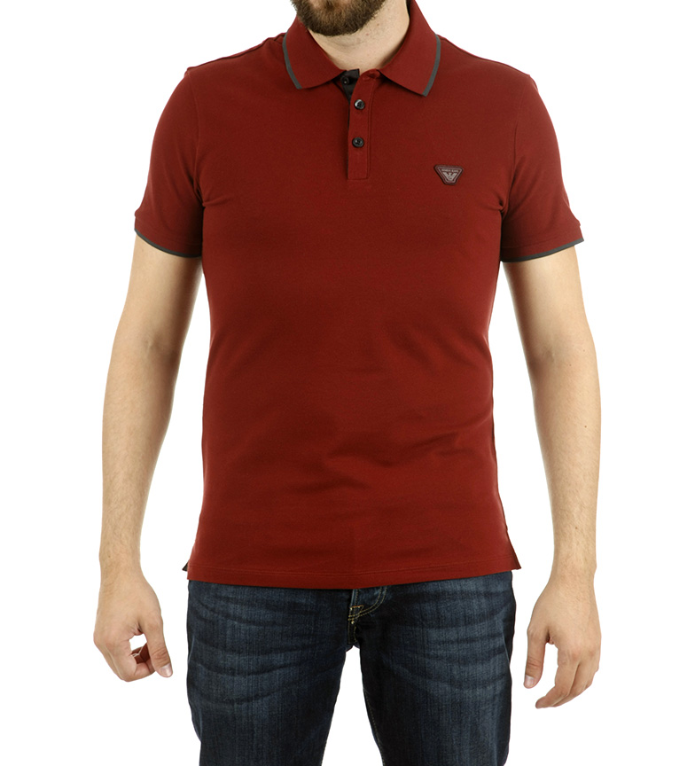Comprar Armani Jeans Maroon Armani Polo