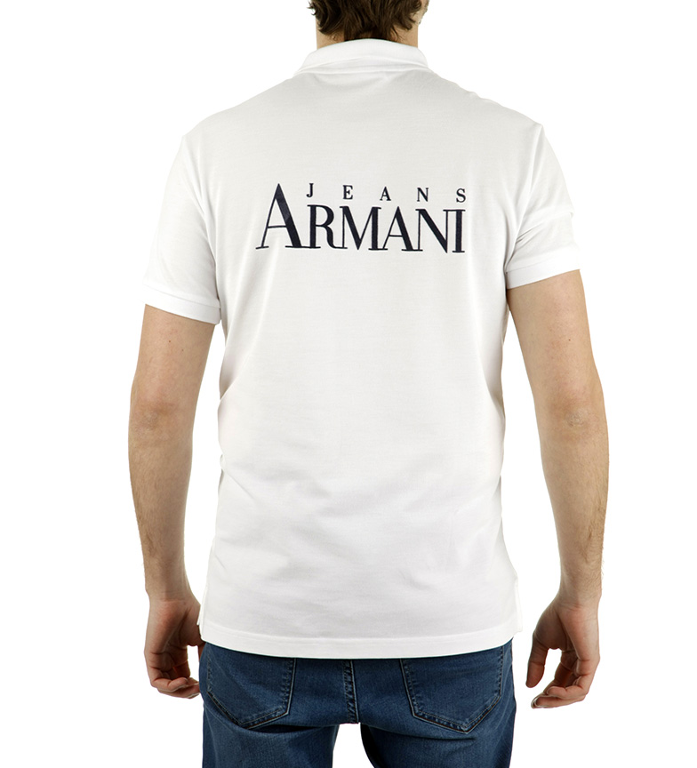 salg butikken rabatt får autentisk Armani Jeans Polo Armani Jeans Blanco billig salg rimelig utløp rabatt autentisk rabatt bestselger GFHJB4lOE