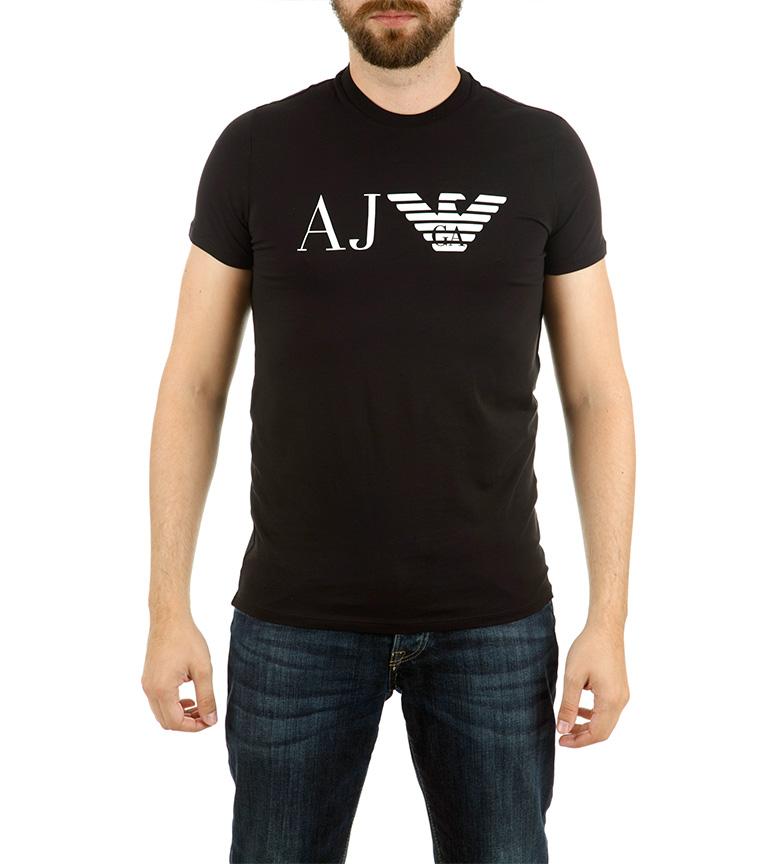 Comprar Armani Jeans Camiseta Basic Trend negro
