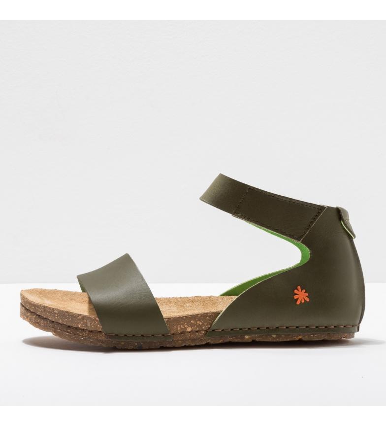 Comprar Art Sandálias de couro 0382 verde Creta