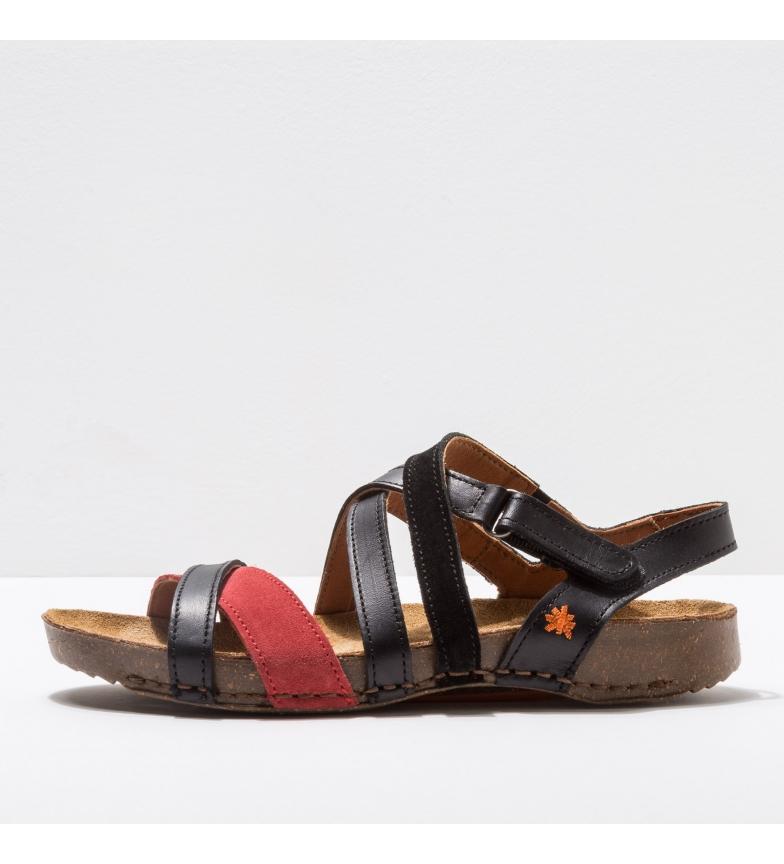 Comprar Art Leather sandals 1116 I Breathe black, red