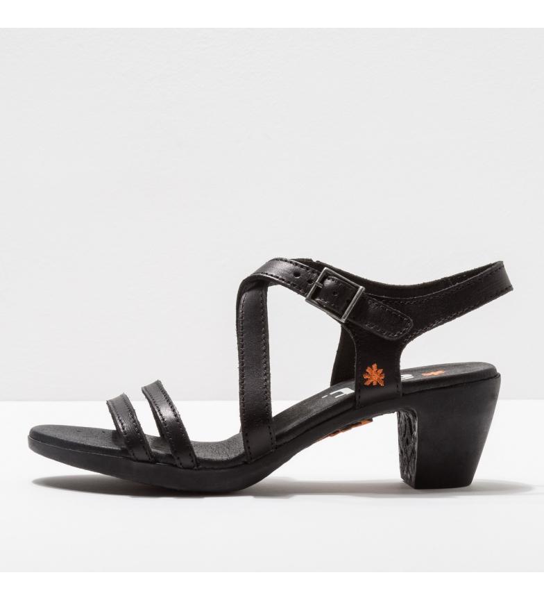 Comprar Art Sandálias de couro 1126 Ipanema preto -Altura do calcanhar: 6cm- -Altura do calcanhar: 6cm- - Sandálias de couro 1126 Ipanema preto -Altura do calcanhar: 6cm-