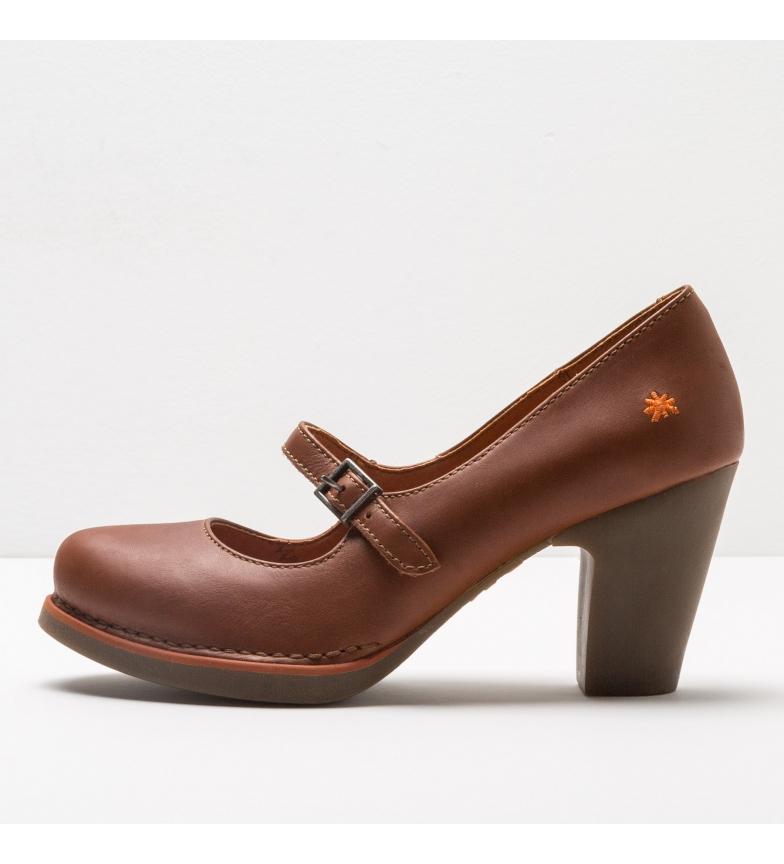 Comprar Art Gran Via sapatos de couro castanho 1144 Gran Via -Altura do calcanhar: 8cm