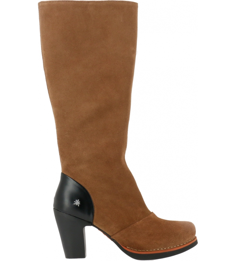 Comprar Art Leather boots 1154 Lux Suede beige -Heel height: 8cm