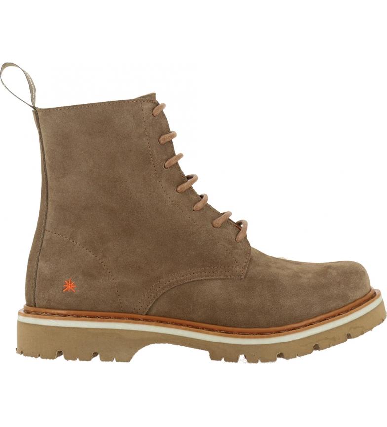 Comprar Art Soma botas de couro para tornozelo 1199 castanho