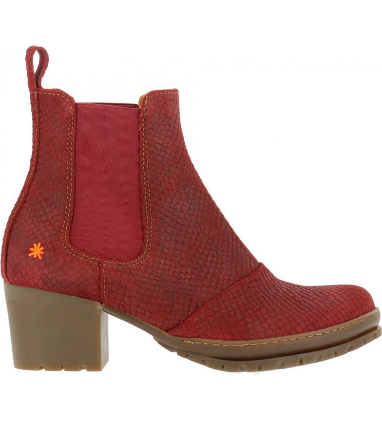 Comprar Art Ankle boots 1235p Python Wax red -Heel height: 5cm