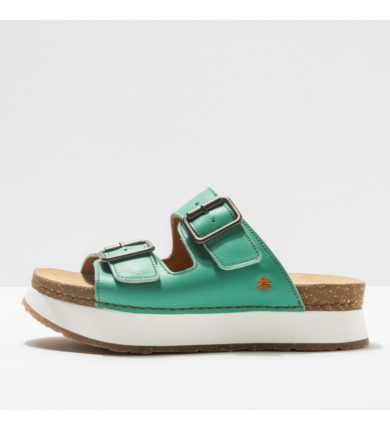 Comprar Art Leather sandals 1265 Mykonos green
