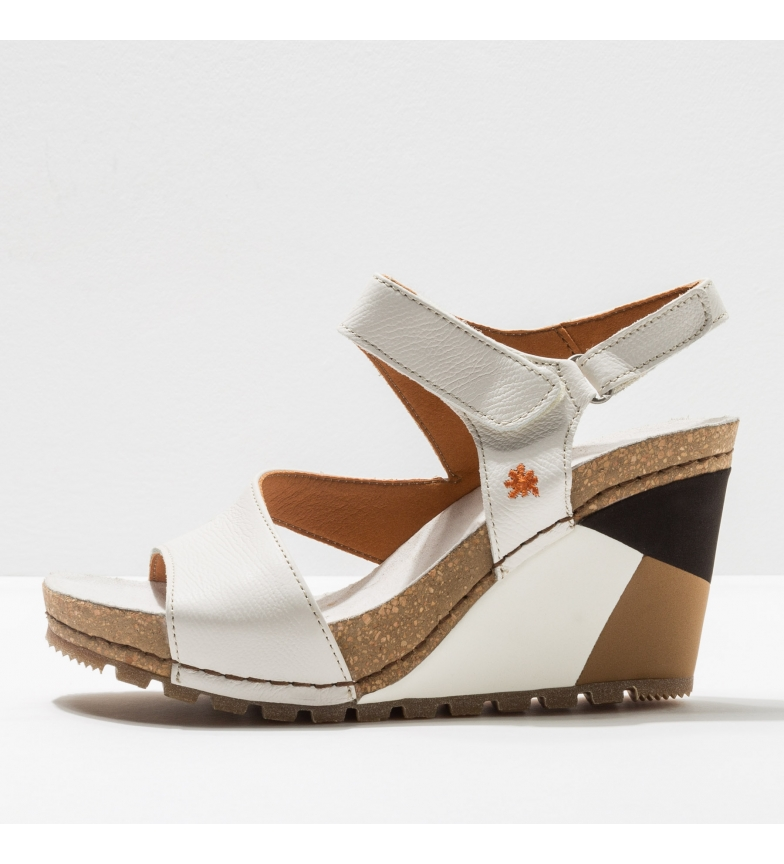 Comprar Art Leather sandals 1330 Güell white -Height of the wedge: 8 cm