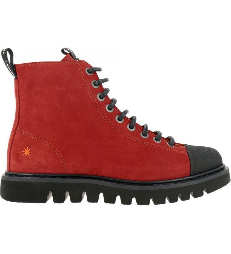 Comprar Art Botas de couro para tornozelo 1413 Toronto vermelho