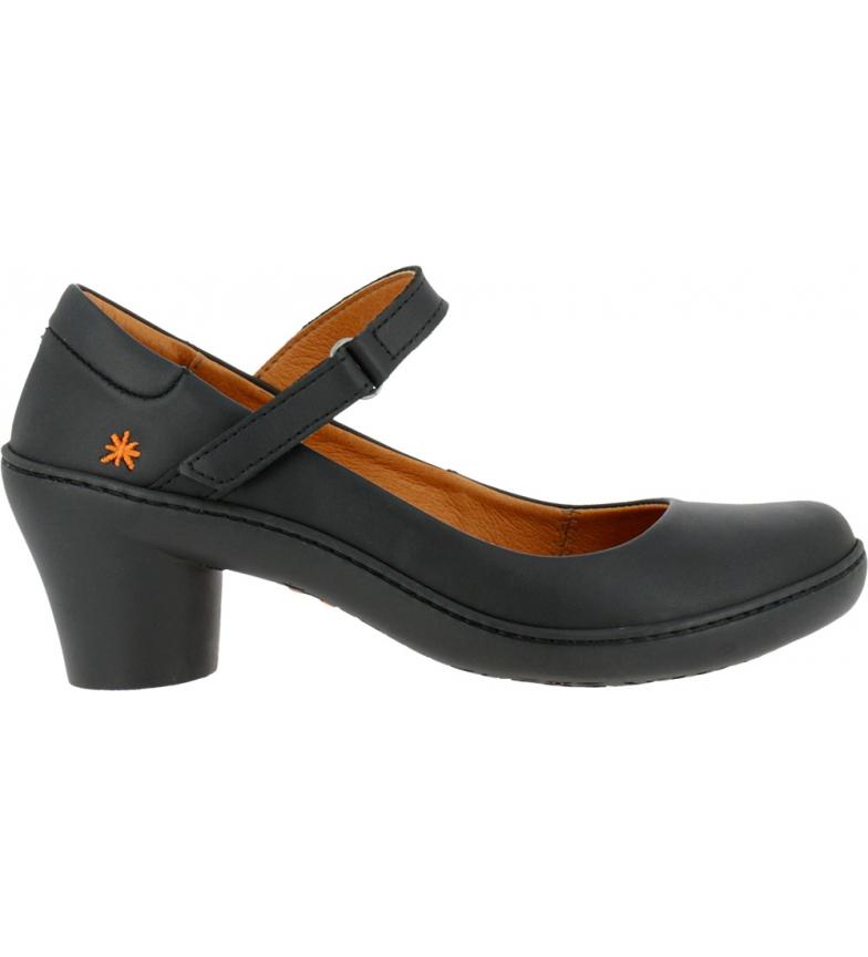 Comprar Art Alfama 1440 scarpe in pelle nera - Altezza del tacco: 6,5 cm