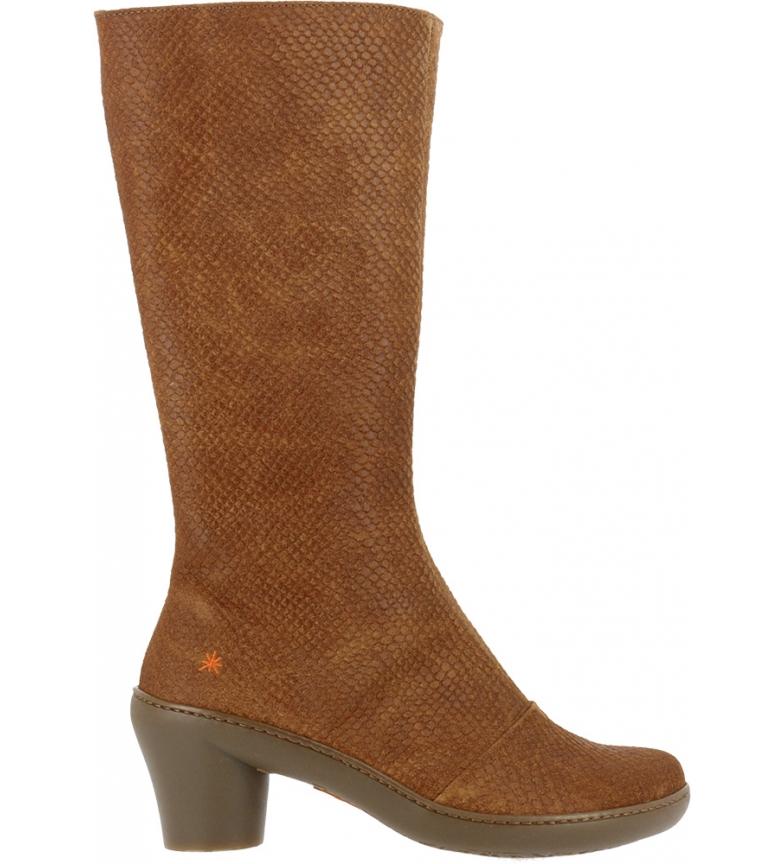 Comprar Art Boots 1449p Python Wax leather -Heel height: 6.5cm