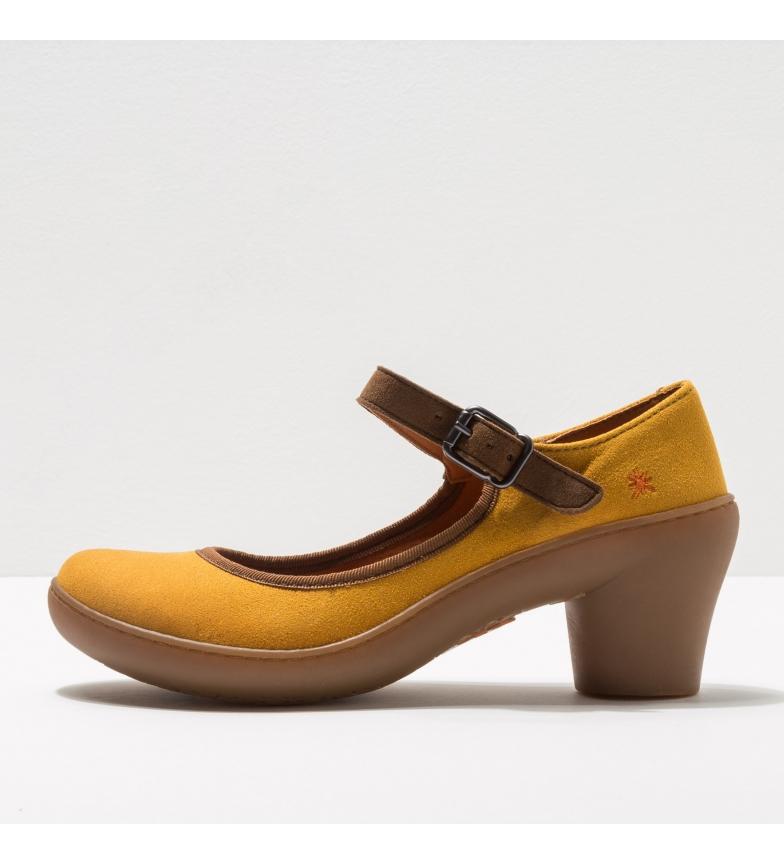 Comprar Art Chaussures en cuir 1452 Alfama moutarde -Hauteur du talon : 6,5cm