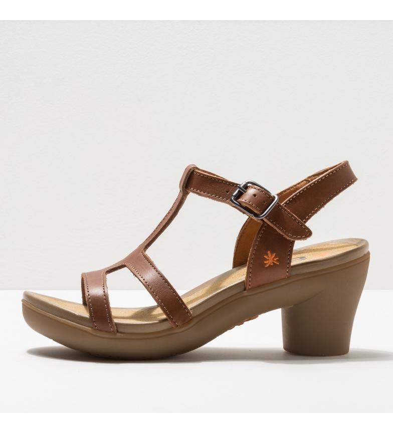 Comprar Art Leather sandals 1473 Alfama brown -Heel height: 7 cm- -Height of the heel: 7 cm- -Leather sandals 1473 Alfama brown