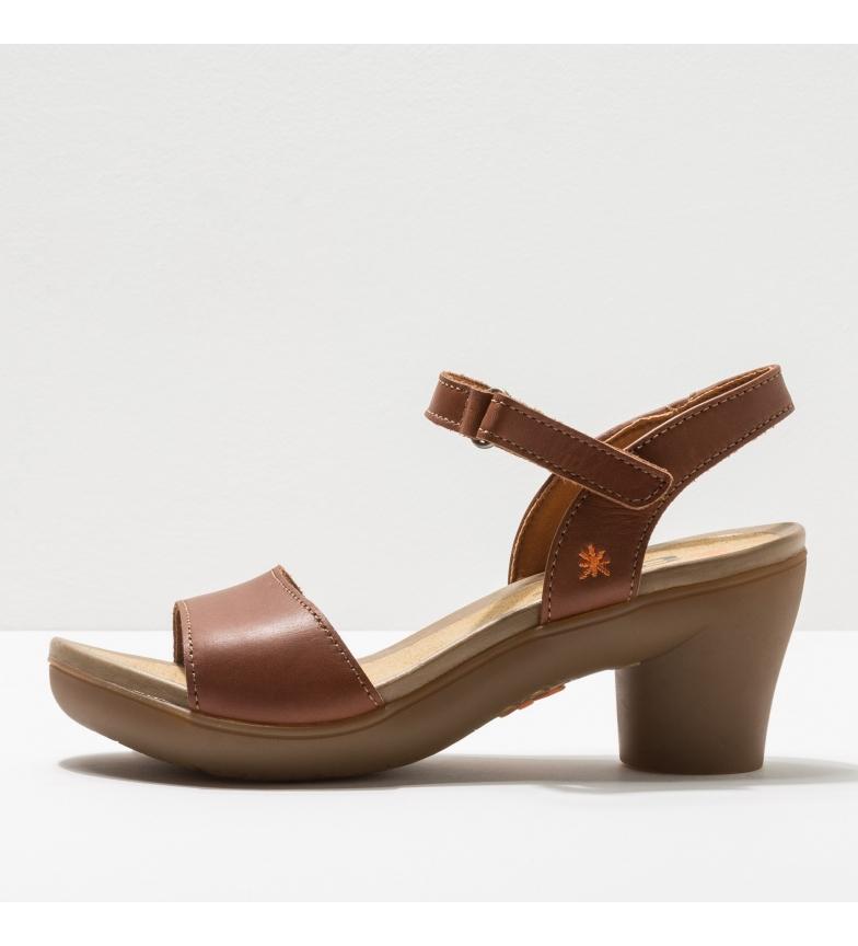 Comprar Art Leather sandals 1475 Alfama brown -Heel height: 7 cm- -Height of the heel: 7 cm- -Leather sandals 1475 Alfama brown -Heel height: 7 cm-