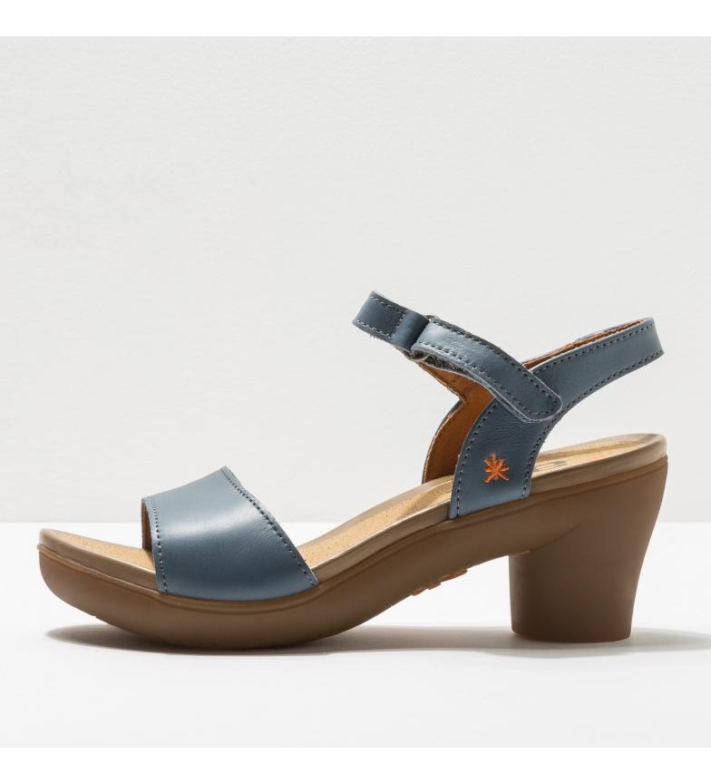 Comprar Art Sandálias de couro 1475 Alfama azul -Altura do calcanhar: 7 cm- -Altura do calcanhar: 7 cm- - Sandálias de couro 1475 Alfama azul -Altura do calcanhar: 7 cm-