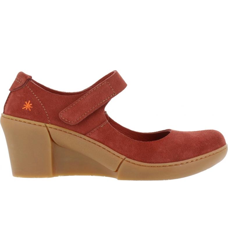Comprar Art Zapatos de piel Rotterdam 1567 burdeos  -Altura cuña: 6,5 cm-